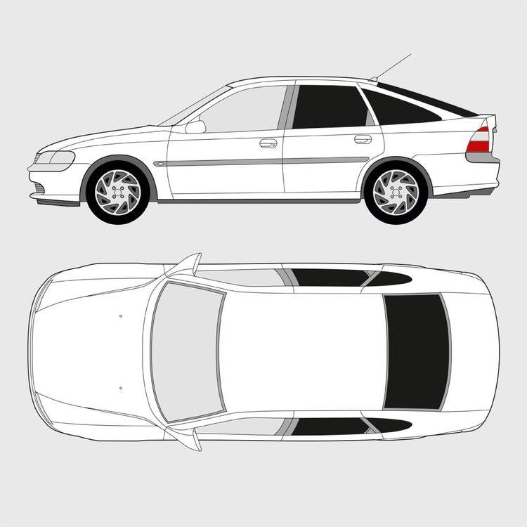 Opel Vectra 5-dörrar 1996-2003
