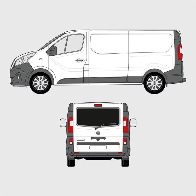 Opel Vivaro baklucka 2017-