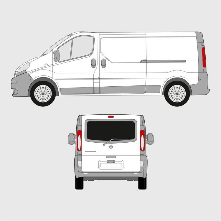 Opel Vivaro baklucka 2001-2014