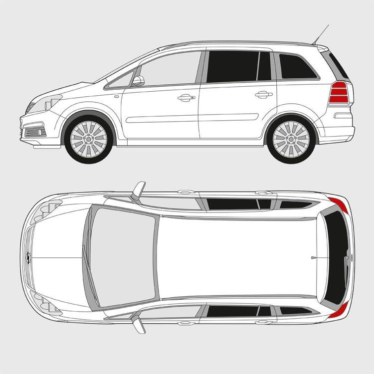 Opel Zafira 2005-2011