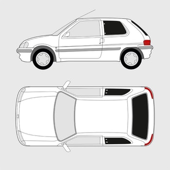 Peugeot 106 3-dörrar