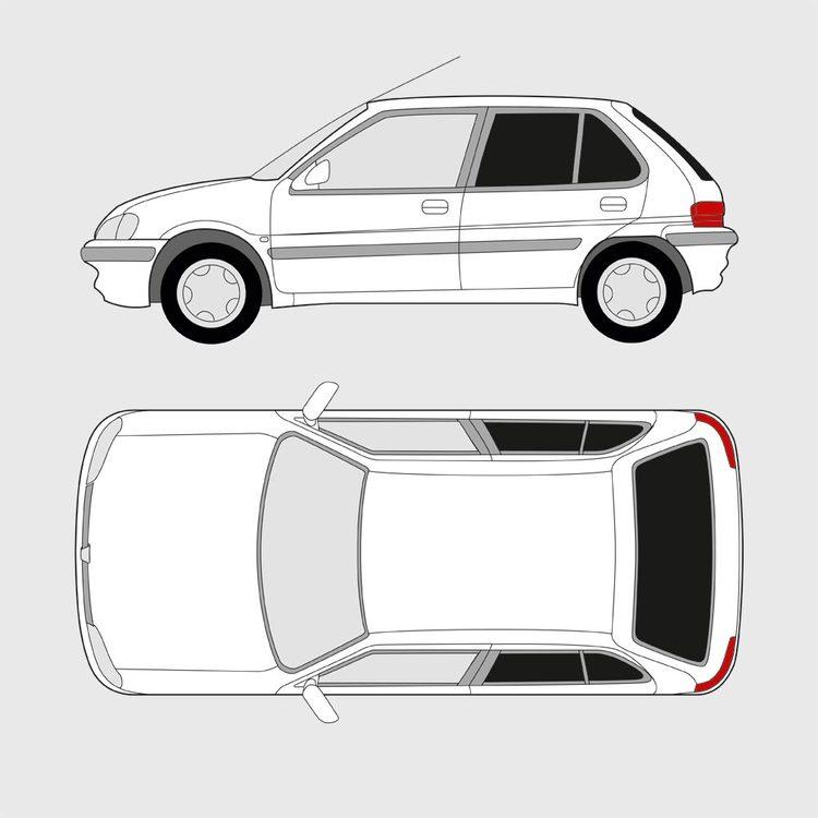 Peugeot 106 5-dörrar 1991-2003