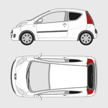 Peugeot 107 3-dörrar