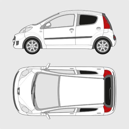 Peugeot 107 5-dörrar