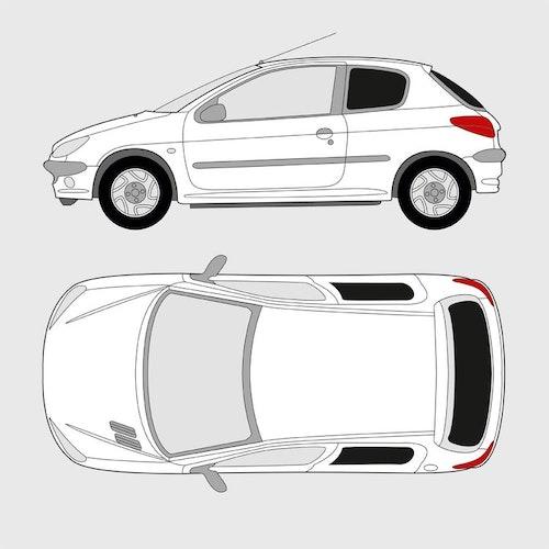 Peugeot 206 3-dörrar