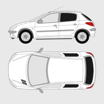 Peugeot 206 5-dörrar