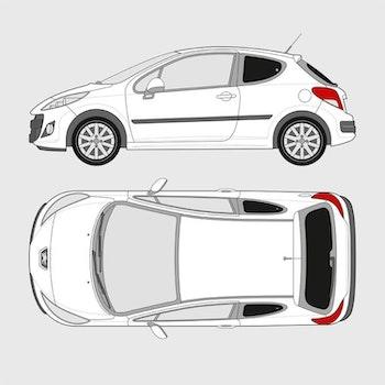 Peugeot 207 3-dörrar