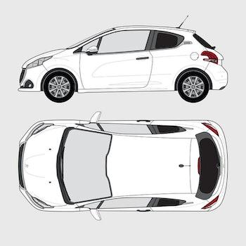 Peugeot 208 3-dörrar