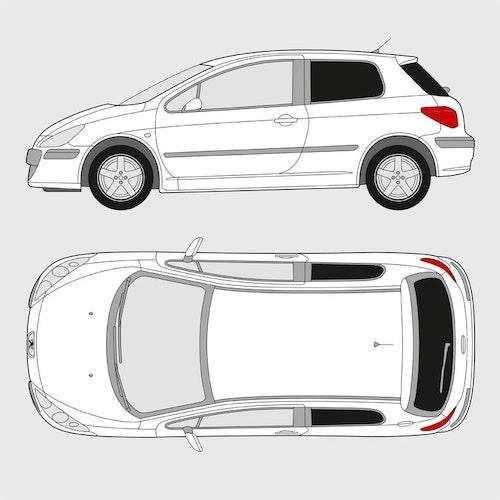 Peugeot 307 3-dörrar