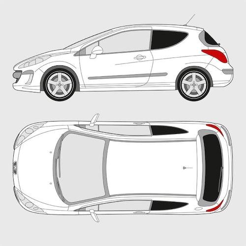 Peugeot 308 3-dörrar