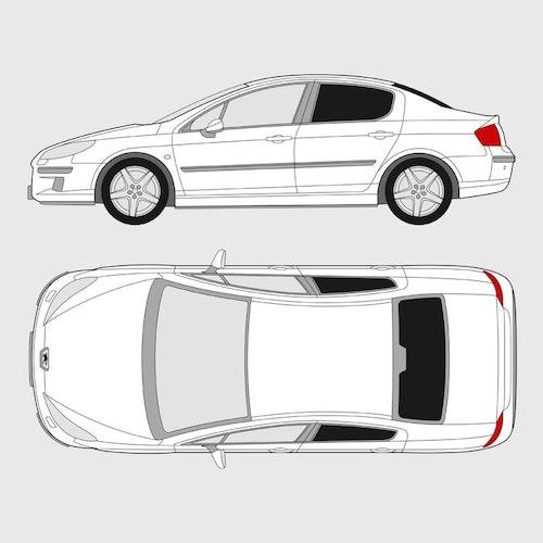 Peugeot 407 4-dörrar
