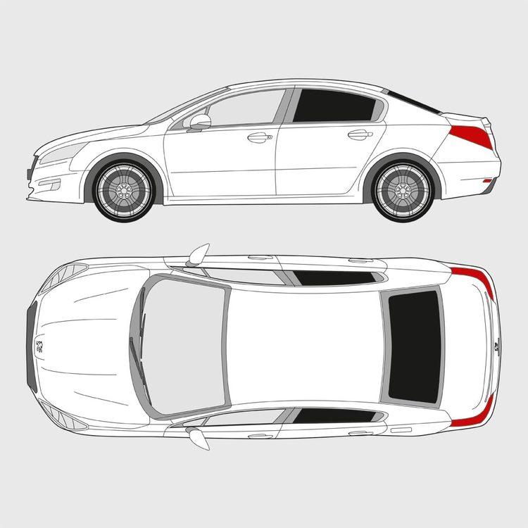 Peugeot 508 4-dörrar 2010-2018