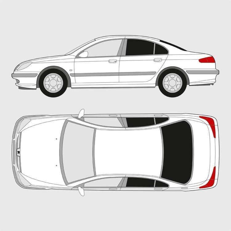 Peugeot 607 4-dörrar 2000-2010