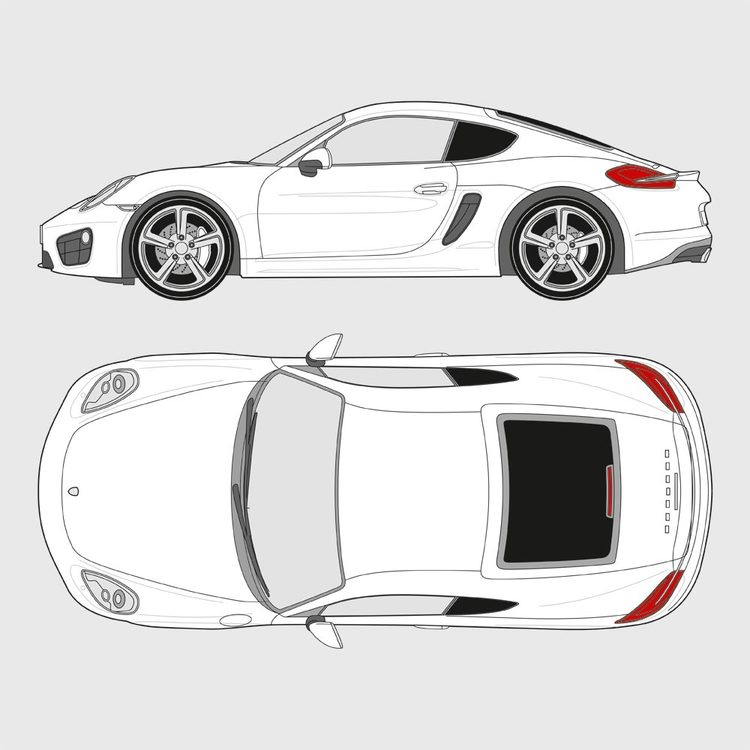Porsche Cayman 2014-