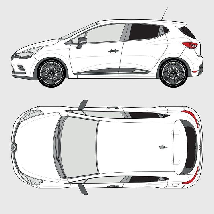 Renault Clio 5-dörrar 2014-