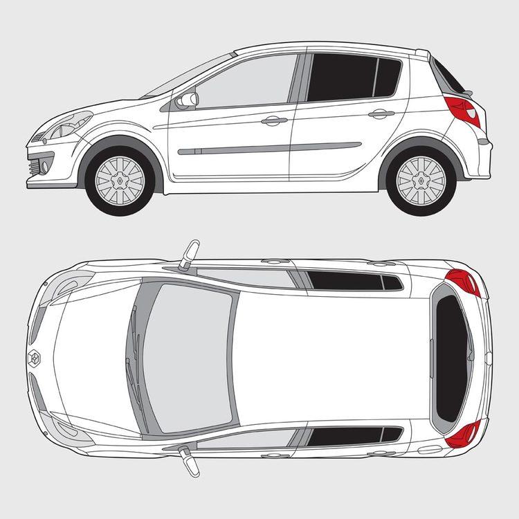 Renault Clio 5-dörrar 2005-2014
