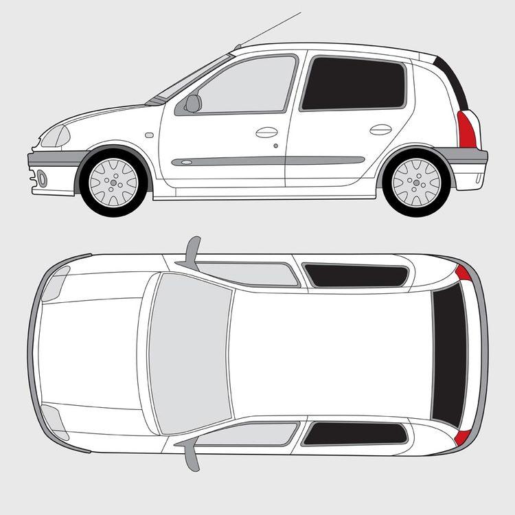 Renault Clio 5-dörrar 1998-2005