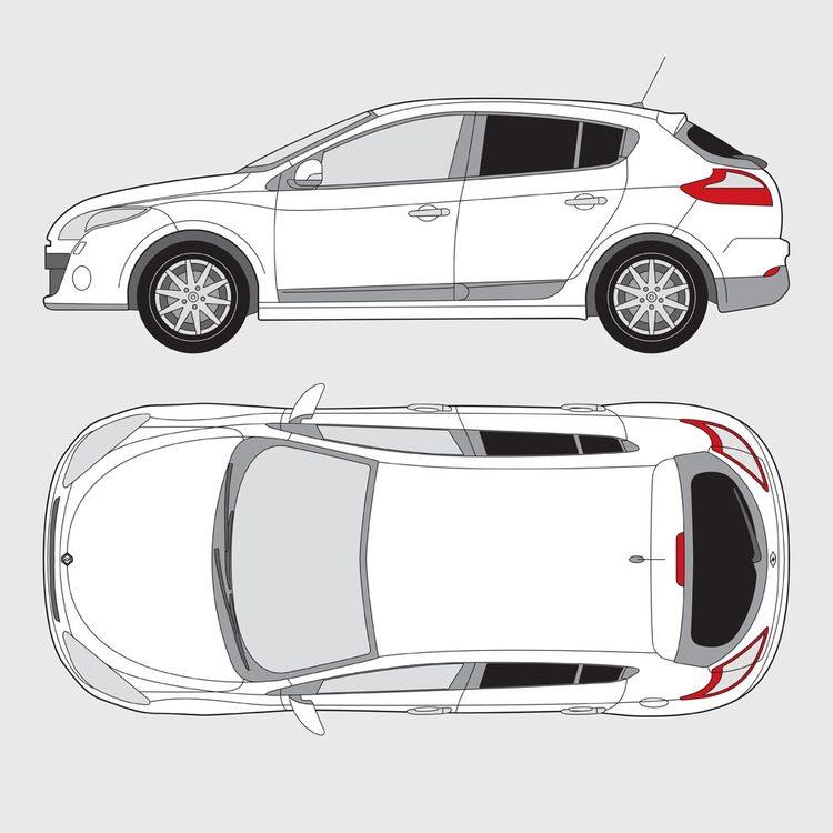 Renault Megan 5-dörrar 2009-2015