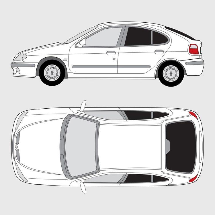 Renault Megan 5-dörrar 2002-2009