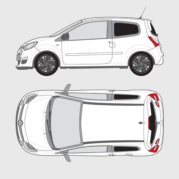 Renault Twingo 3-dörrar 2014-2019