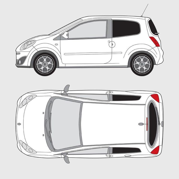 Renault Twingo 3-dörrar 2007-2013