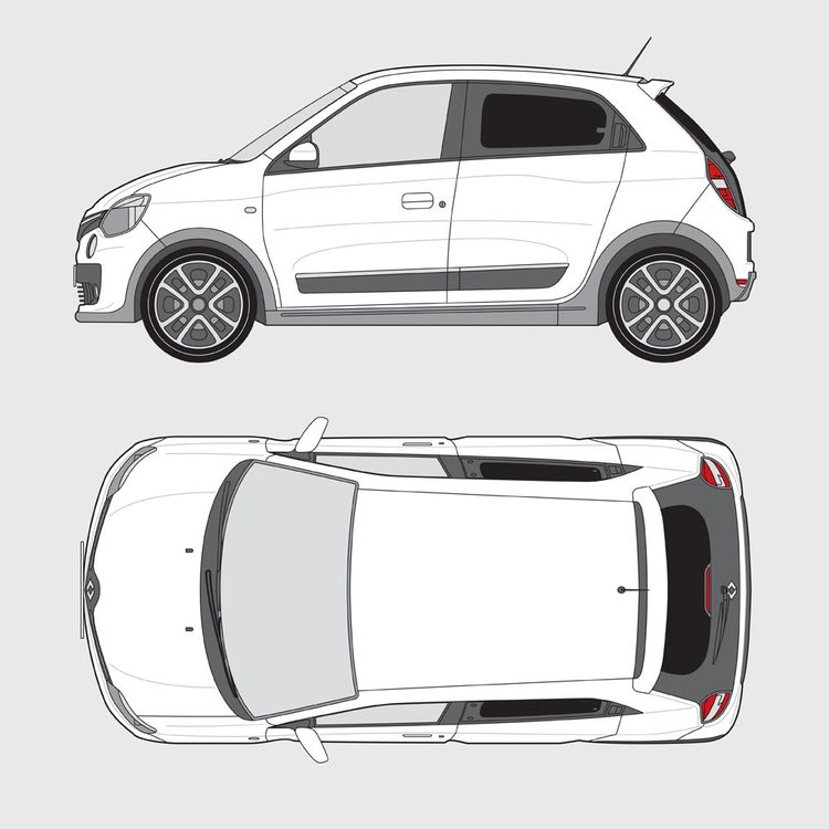 Renault Twingo 5-dörrar 2014-2019