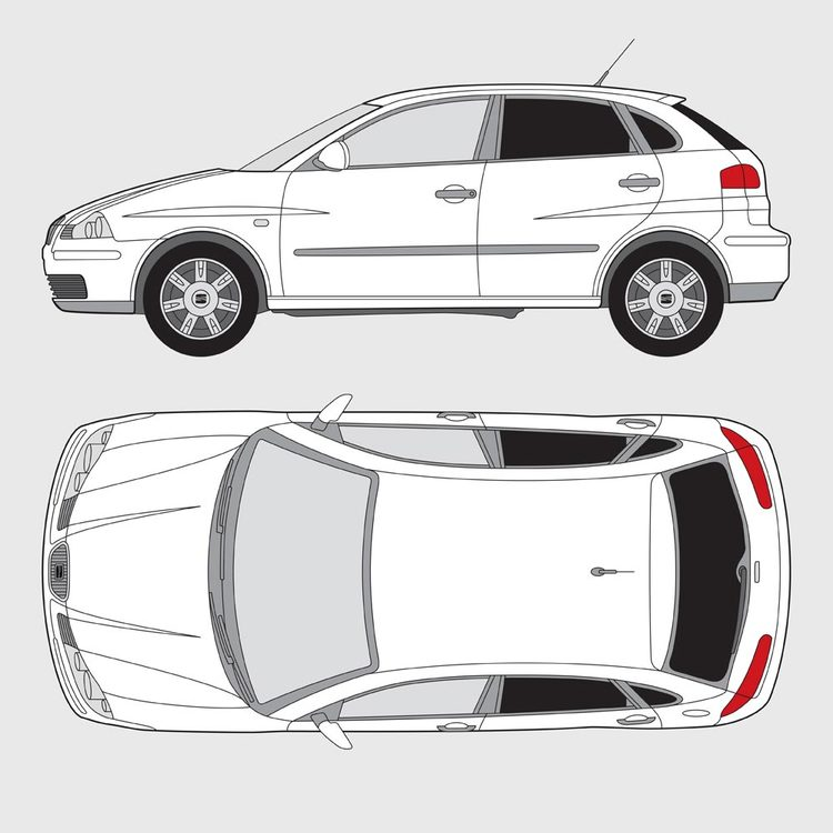 Seat Ibiza 5-dörrar 2002-2008