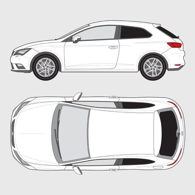 Seat Leon SC 3-dörrar 2012-