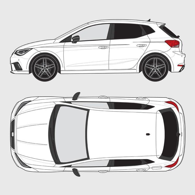Seat Ibiza 5-dörrar 2017-