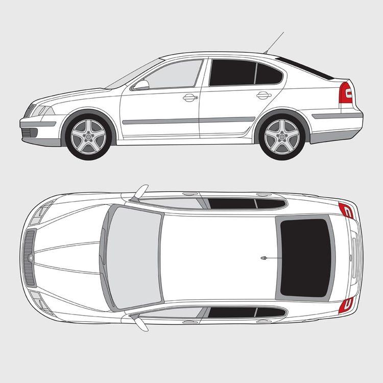 Skoda Octavia 5-dörrar 2005-2013