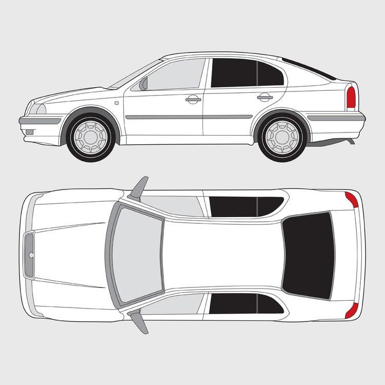 Skoda Octavia 5-dörrar 1998-2005