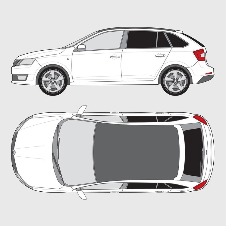 Skoda Rapid Spaceback 2013-