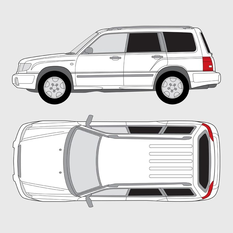 Subaru Forester 1998-2007