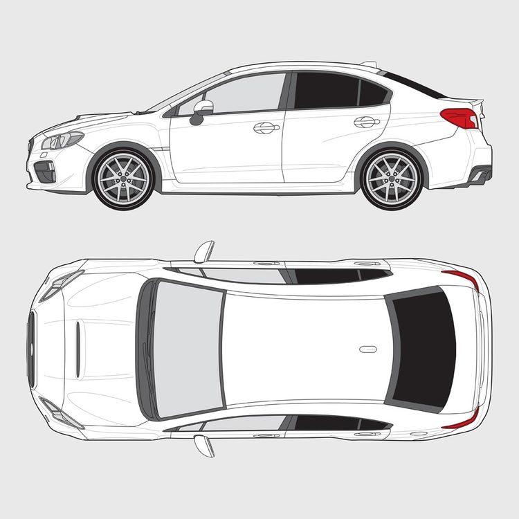 Subaru Impreza 4-dörrar 2015-