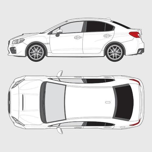 Subaru Impreza 4-dörrar
