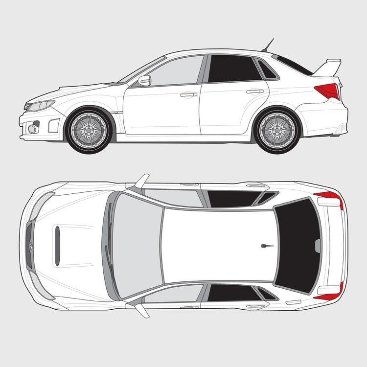 Subaru Impreza 4-dörrar 2011-2015