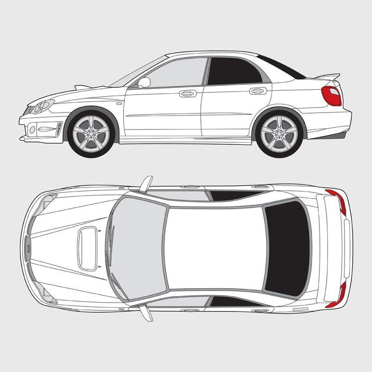 Subaru Impreza 4-dörrar 2005-2011