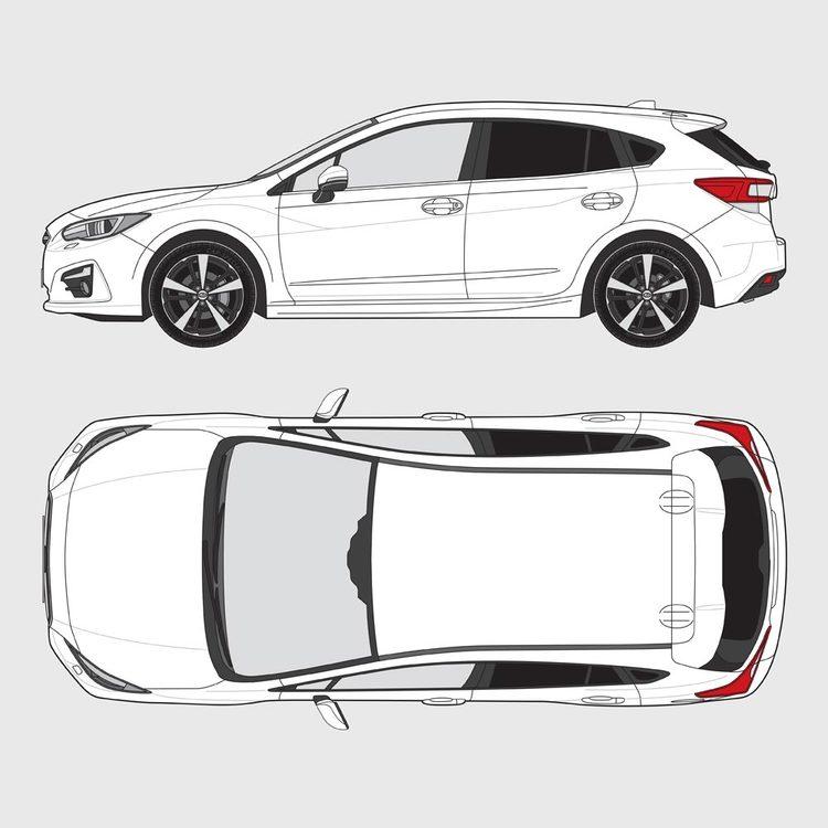 Subaru Impreza 5-dörrar 2018-
