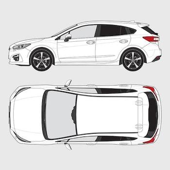 Subaru Impreza 5-dörrar