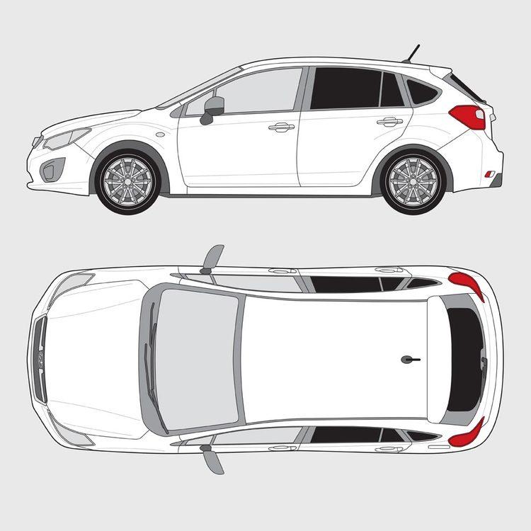 Subaru Impreza 5-dörrar 2014-2018