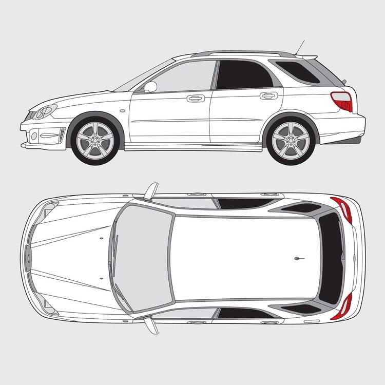Subaru Impreza 5-dörrar 2005-2014