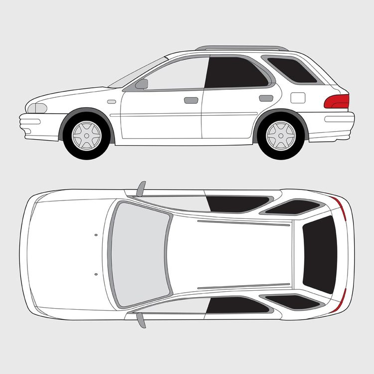 Subaru Impreza 5-dörrar 2000-2005