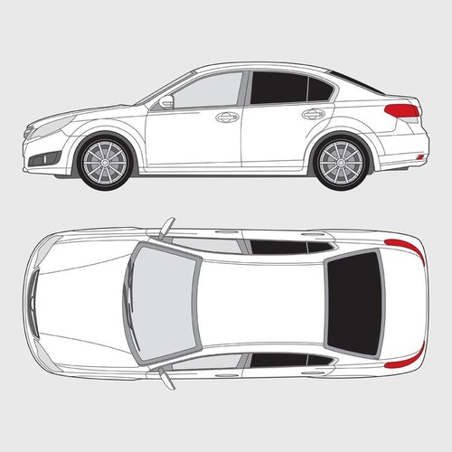 Subaru Legacy 4-dörrar