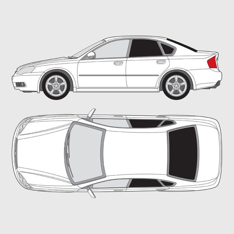 Subaru Legacy 4-dörrar 2003-2009