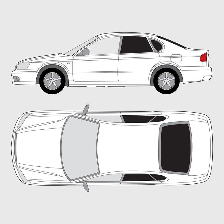 Subaru Legacy 4-dörrar 1999-2003