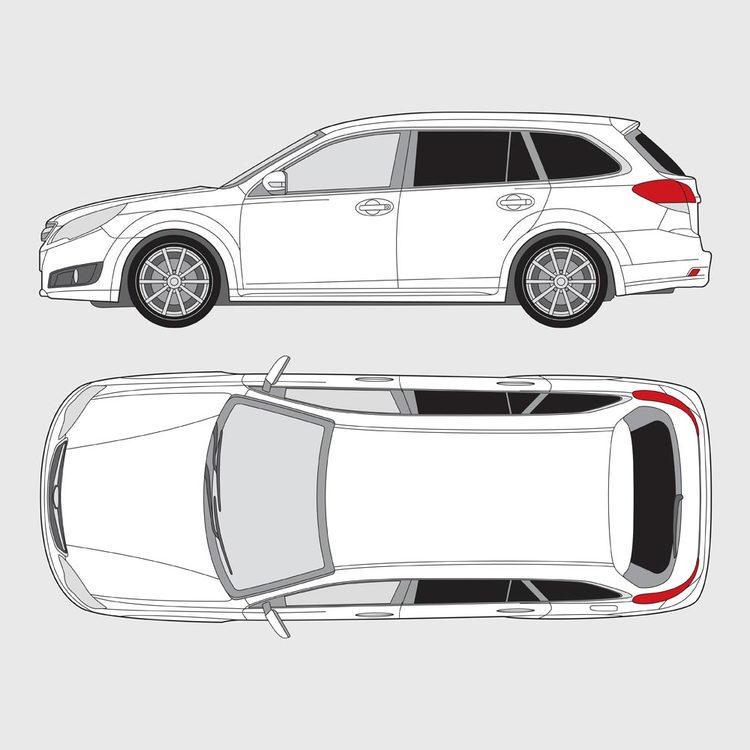 Subaru Legacy kombi 2009-2015