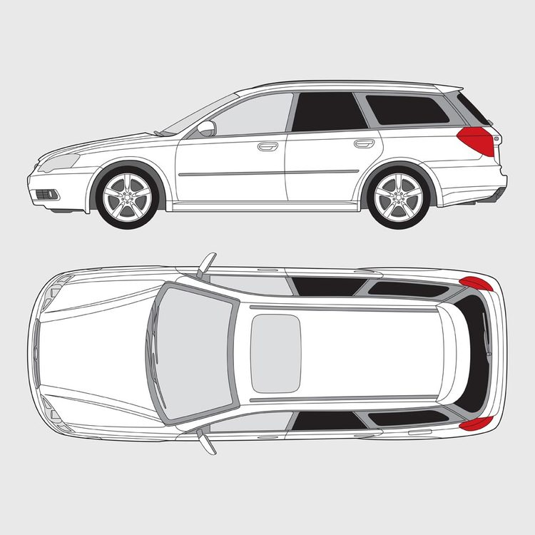 Subaru Legacy kombi 2003-2009
