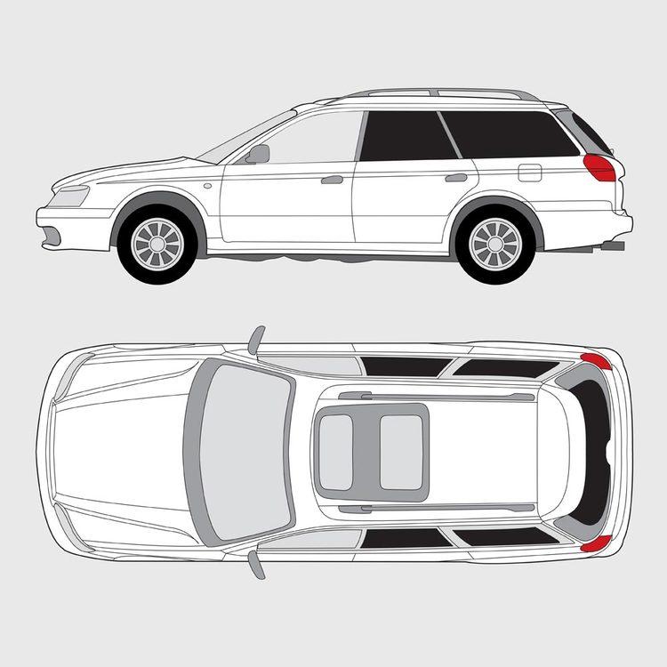 Subaru Legacy kombi 1998-2003