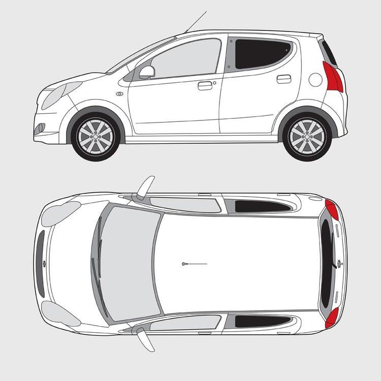 Suzuki Alto 5-dörrar 2008-2015