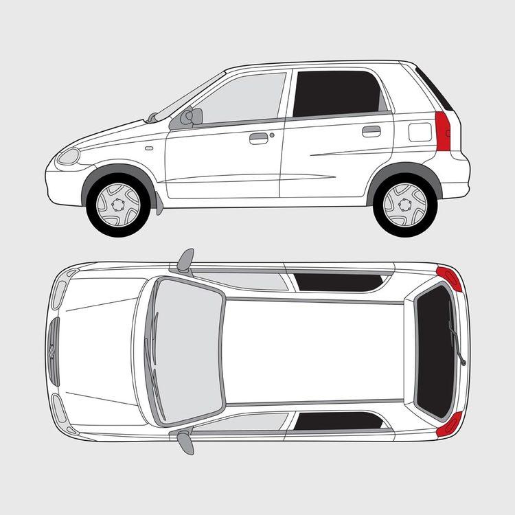 Suzuki Alto 5-dörrar 2003-2008